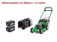 SABO 53-PRO VARIO AC Profi Akku-Mäher - Set inkl. 2x Akku & 1x Ladegerät