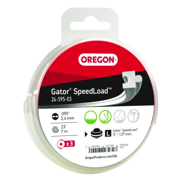 Oregon Gator® SpeedLoad™ Fadendisk Large 2,4 mm 7,0 Meter