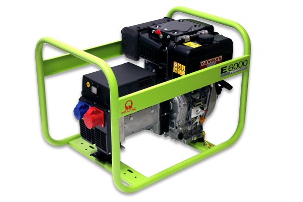 Diesel Stromerzeuger Pramac E6000 TYH - 400 Volt - PA572TYH
