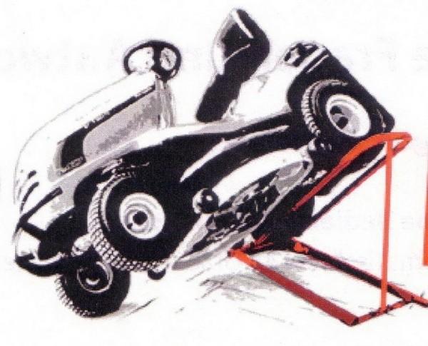 BLACK EDITION Cliplift hydraulischer Traktorheber
