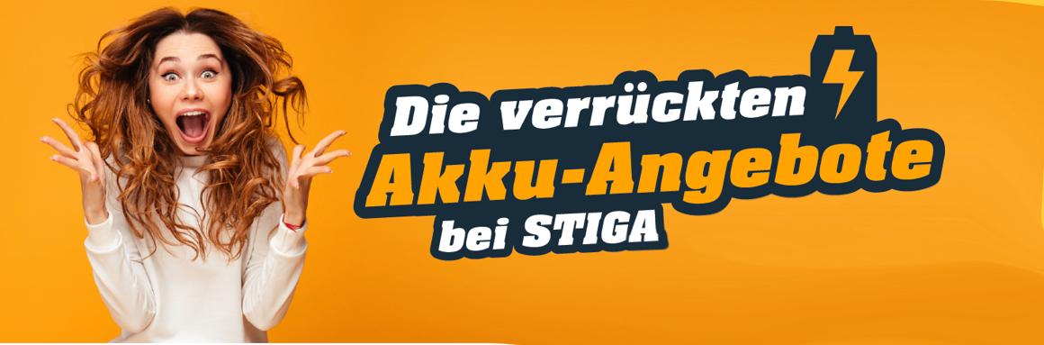 Akku-Angebote von STIGA