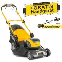 Stiga Akku-Rasenmäher Combi 50 SQ DAE + Rasentrimmer SGT 500 AE