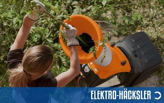 Elektro-Häcksler Sortiment