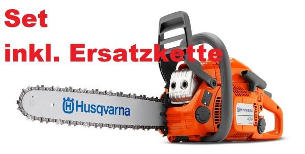 Husqvarna Kettensäge Benzin 435 Mark II mit Ersatzkette Modell 2021