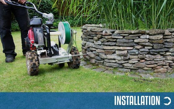 Installation Rasenroboter Zubehör