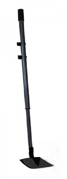 Teleskop-Reinigungskratzer für große Rasentraktoren