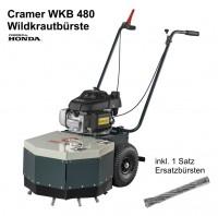 Cramer Wildkrautbürste WKB 480 inkl. Satz Ersatzbürsten