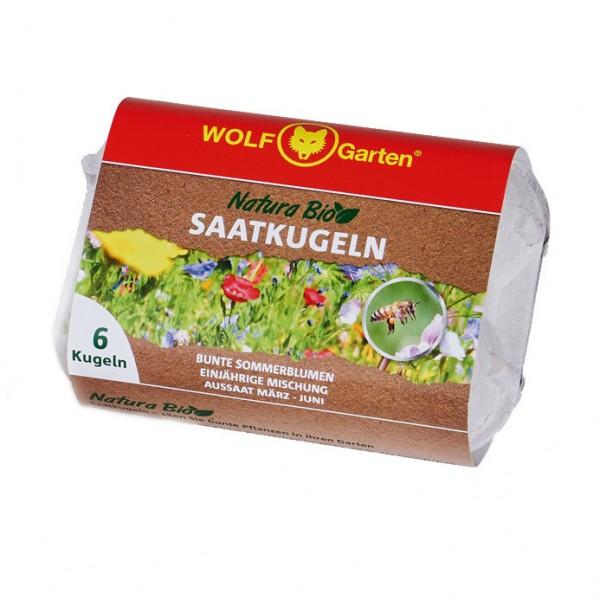 Wolf Garten Natura Bio Saatkugeln N-KSO 6 - Bunte Sommerblumen