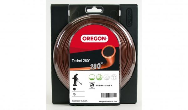 Oregon Freischneidefaden Techni 280° Faden Durchmesser 2,7mm