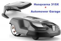 Husqvarna Automower 315X mit Husqvarna Garage - Modell 2020