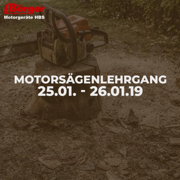 Börger Motorgeräte Lehrgang Motorsägenführerschein nach P.E.F.