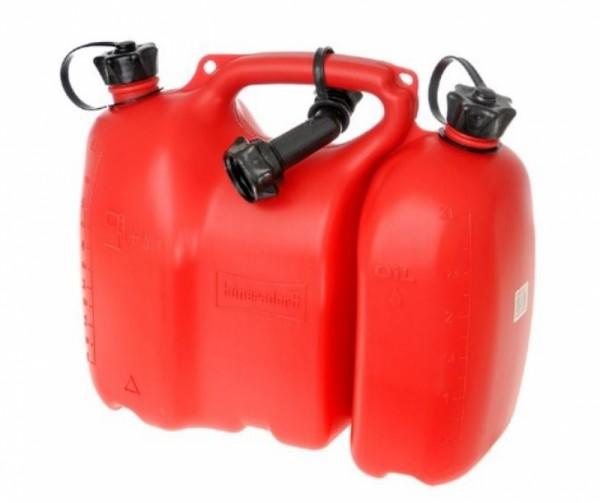 Oregon Doppelkanister Rot 6 L + 3 L Fiordland® Profi - 562405