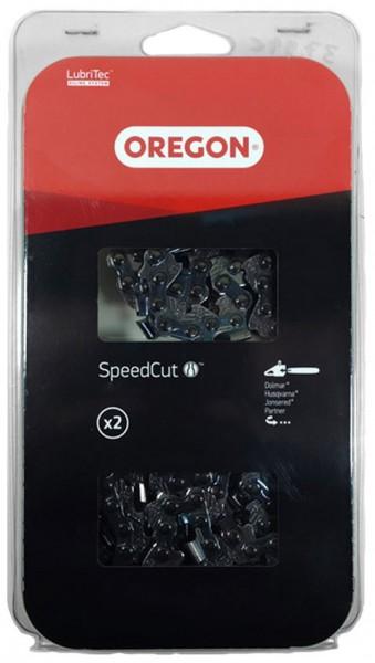 """Oregon Sägekette 95TXL .325"""" 1,3 mm 72TG HM SpeedCut™ 2 Stück - 95TXL072E"""
