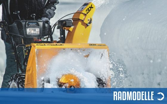 Radmodelle Schneefräsen | Motorgeräte Halberstadt