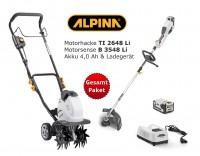 ALPINA  Akku Motorhacke TI 2648 Li + Akkusense B 3548 Li  - Set