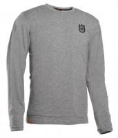 Husqvarna Xplorer Langarm-Shirt Sägemotiv unisex Stahlgrau - 5932535