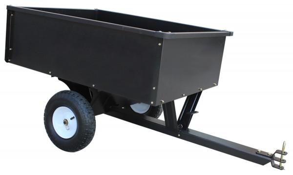 Black Edition Stahl Gartenanhänger, Geräteanhänger max. 180 kg