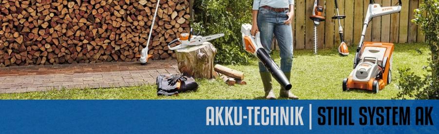 Akku-Technik System STIHL AK