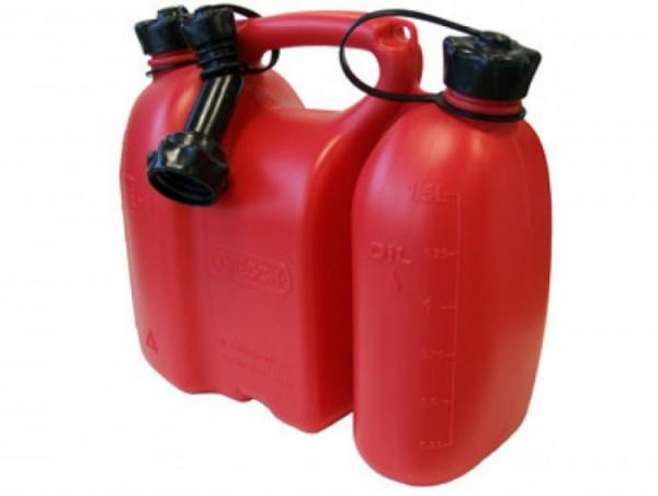 Oregon Doppelkanister Rot 3 L + 1,5 L Yukon® - 562409