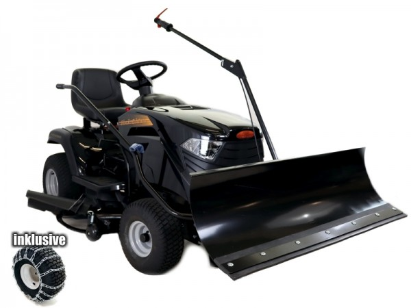 Black Edition Rasentraktor PRO 218/108 HKS mit Winterpaket 110 Plus