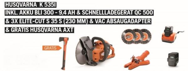 Husqvarna Akku Trennschleifer K535i XP Set