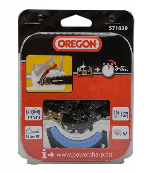 "Oregon Sägekette 3/8"" 1,3 mm 62TG HM PowerSharp® - 571039"