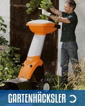 Gartenhäcksler Sortiment