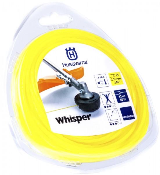 Husqvarna Trimmerfaden Whisper 2,7 mm 12 Meter Gelb - 5784364-01