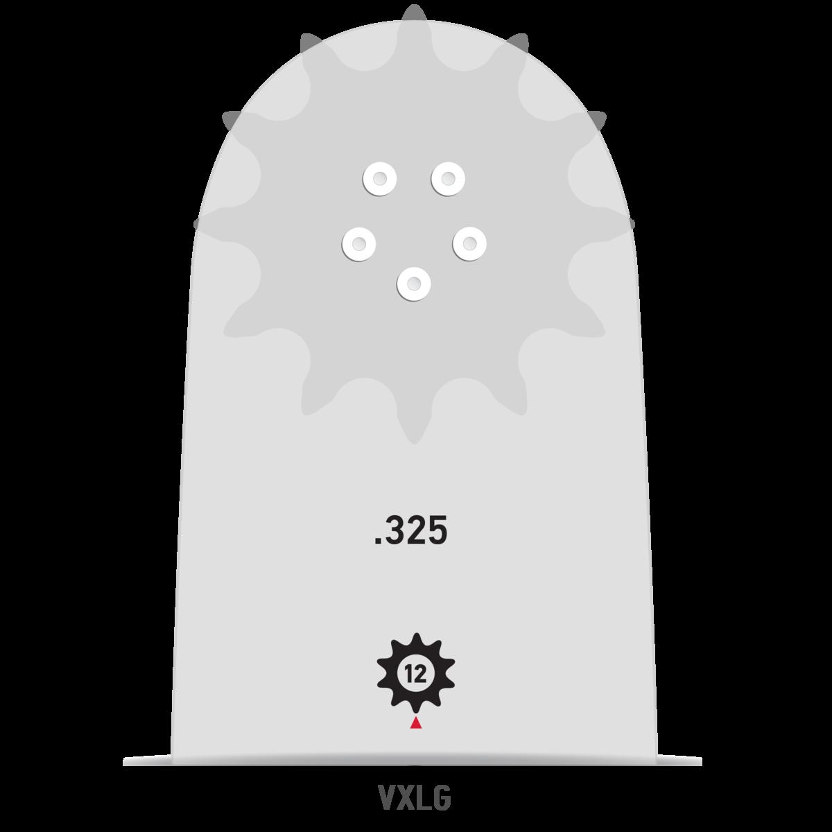 """3 Sägeketten HM .325/"""" 1,5 mm 64 TG 38 cm K095 OREGON 1 Führungsschiene"""