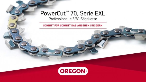 "Oregon Sägekette 75EXL 3/8"" 1,6 mm 66TG VM PowerCut™ Stihl 70-Series - 75EXL066E"