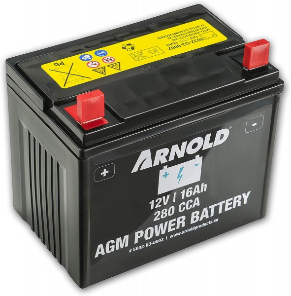 MTD Rasentraktor Batterie 12V 16 Ah AGM Power