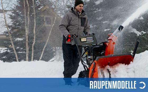 Raupenmodelle Schneefräsen | Motorgeräte Halberstadt