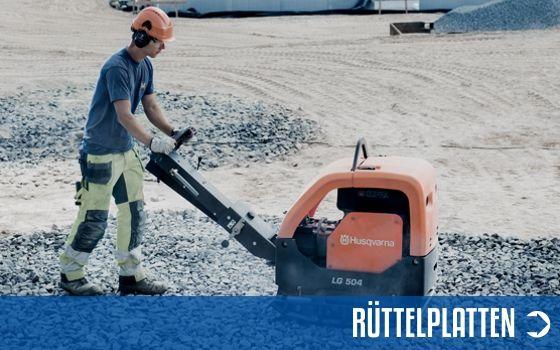Rüttelplatten | Motorgeräte Halberstadt