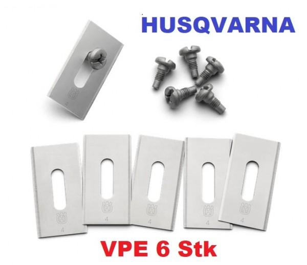 Husqvarna Automower Ersatzmesser Endurance - 6er Pack