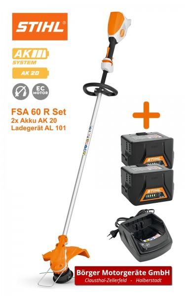 STIHL FSA 60 R Akku-Motorsense mit 2x Akku & Ladegerät