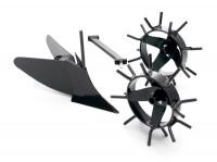 Husqvarna Pflug Kit mit Metallrädern - 966 54 52-01