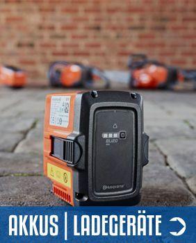Akkus Ladegeräte Husqvarna - Sortiment