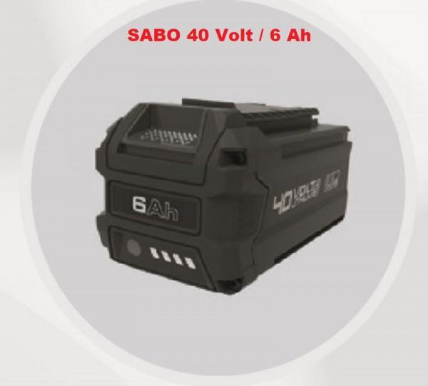 SABO Akku 40 Volt / 6 Ah  - SAA12250