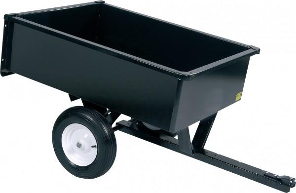 Black Edition Stahl Gartenanhänger, Geräteanhänger max. 300 kg