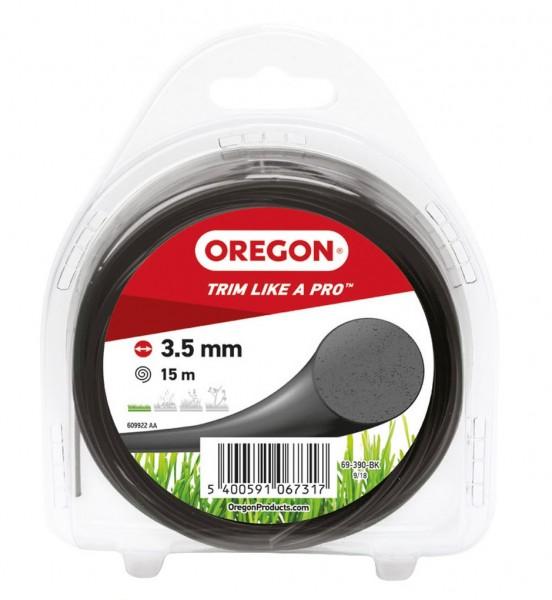 Oregon Trimmerfaden Multicolor Ø 3,5 mm 15 Meter Schwarz