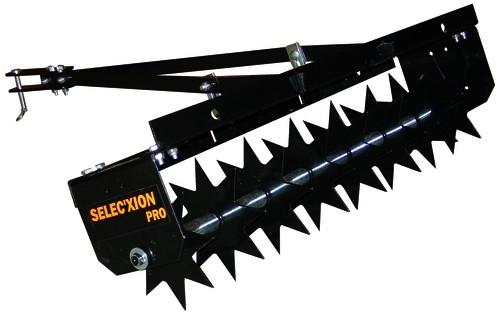 BLACK EDITION Rasentraktor Universal Anbau-Vertikutierer