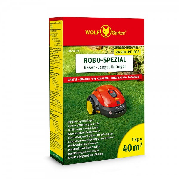 Wolf Garten Robo-Spezial-Langzeitdünger RO-S 40