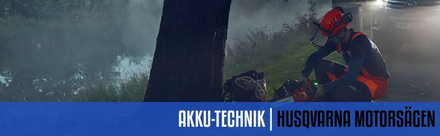Husqvarna Akku-Kettensägen