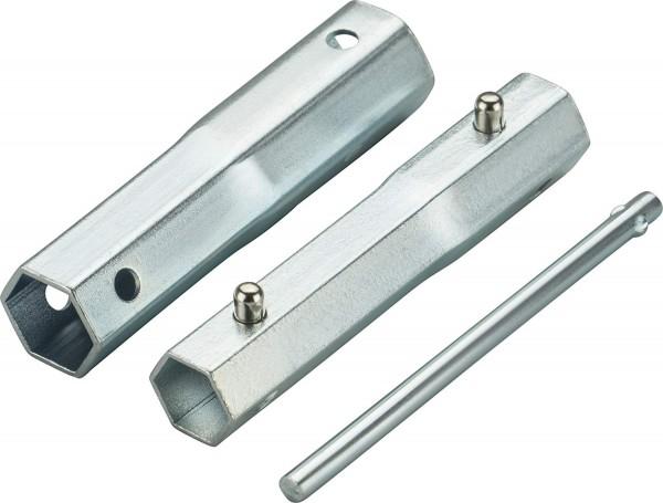 MTD 4-in-1 Zündkerzenschlüssel für SW 16, 18, 19, 21 mm