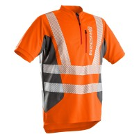 Husqvarna T-Shirt Technical High Viz Kurzarm EN20471 - Orange