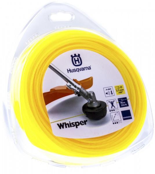 Husqvarna Trimmerfaden Whisper 2,7 mm 70 Meter Gelb - 5784365-01