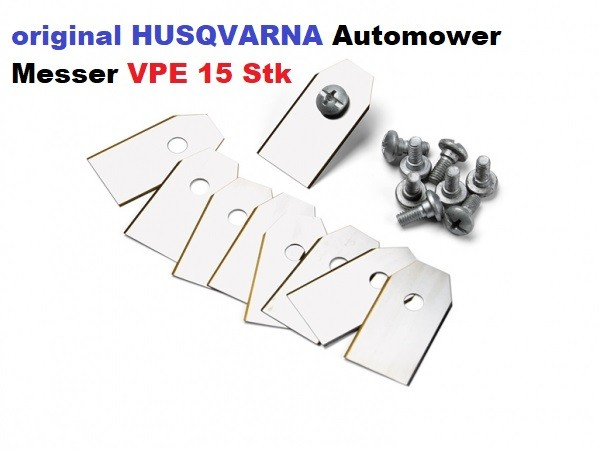 Husqvarna Automower Messer Carbon - 15er Pack