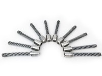 BLACK EDITION Tielbürger - 1 Satz Stahlborsten für Wildkrautbürste BW 500