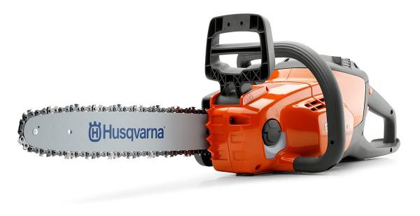 Husqvarna Akku-Motorsäge 120i Set inkl. Akku BLi20 + Ladegerät QC80 - Modell 2020