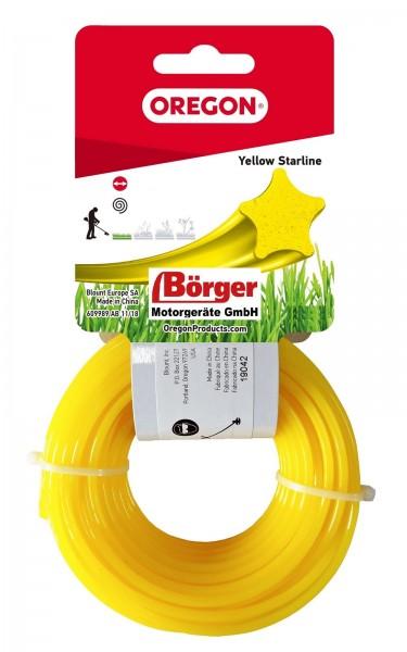 Oregon Freischneidefaden Gelb Starline 3,0 mm